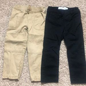 Two pairs of 3T pants